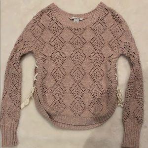 Tops - Women's pink sweater